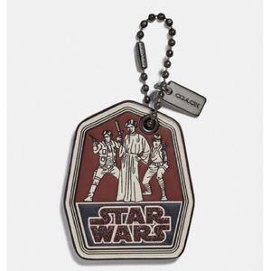 Coach Star Wars hang tag